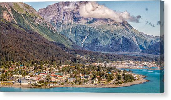 Seward Alaska Canvas Print