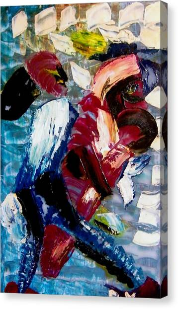 Sex Violence Of 1995 Canvas Print
