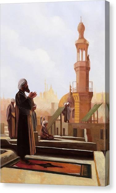 Mosques Canvas Print - Sguardo Al Cielo by Guido Borelli