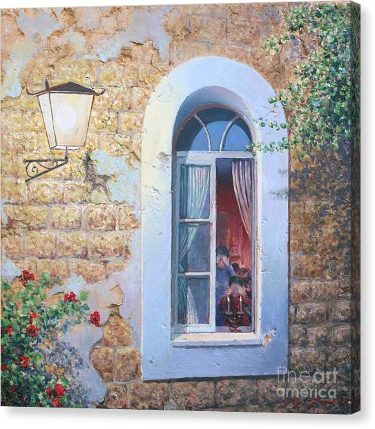Shabbat Shalom Canvas Print