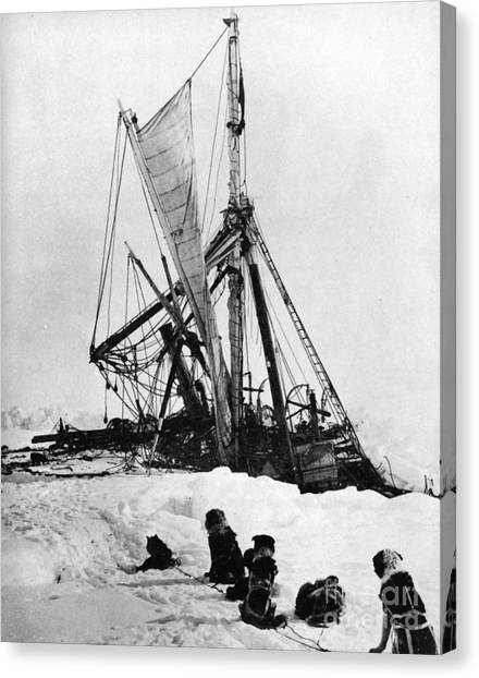 Antarctica Canvas Print - Shackletons Endurance by Granger