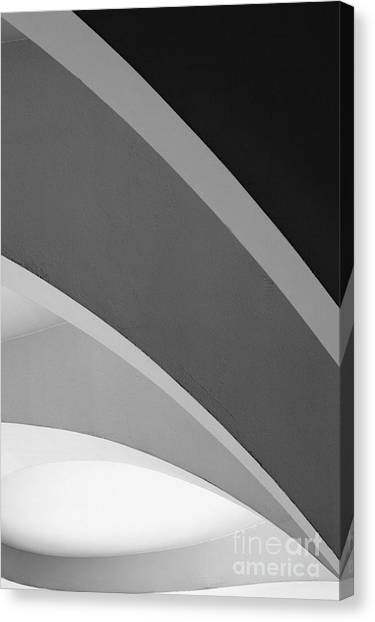 Shades Of Grey Canvas Print by Hideaki Sakurai