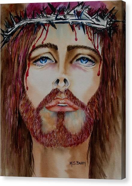 Shades Of Jesus Canvas Print