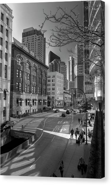 Shades Of The City Canvas Print