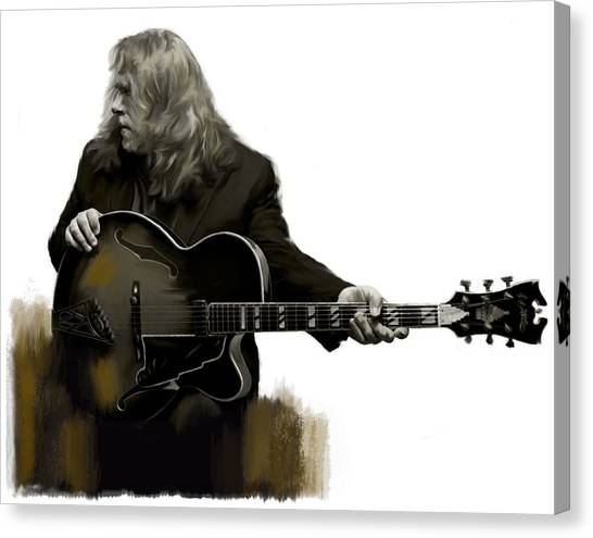 Shades Of Tone Iv Warren Haynes  Canvas Print