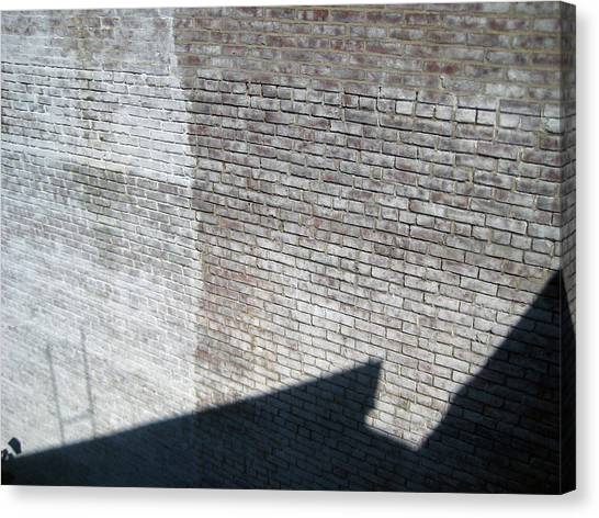 Shadow Brick Canvas Print by Sean Owens