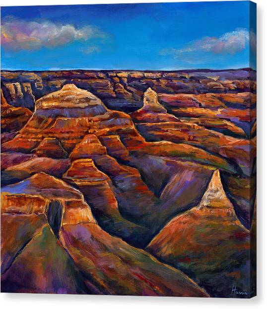 Grand Canyon Canvas Print - Shadow Canyon by Johnathan Harris