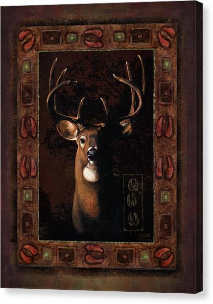 Buck Canvas Print - Shadow Deer by JQ Licensing