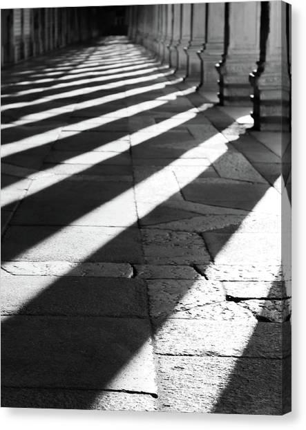 Shadow Play - Venice, Italy Canvas Print