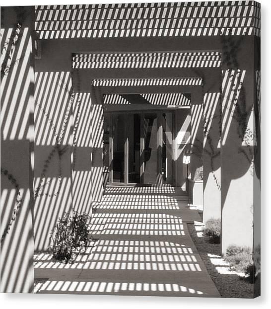 Shadow Puzzle Canvas Print