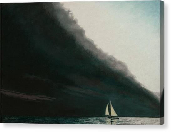 Shadow Work Canvas Print by Allan OMarra