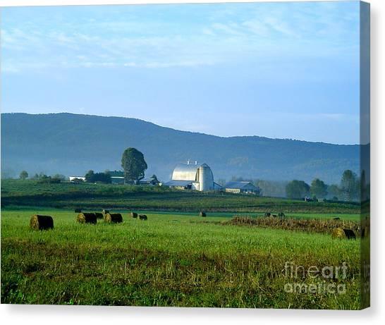 Shady Valley Farm Canvas Print