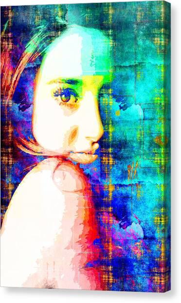 Shailene Woodley Canvas Print