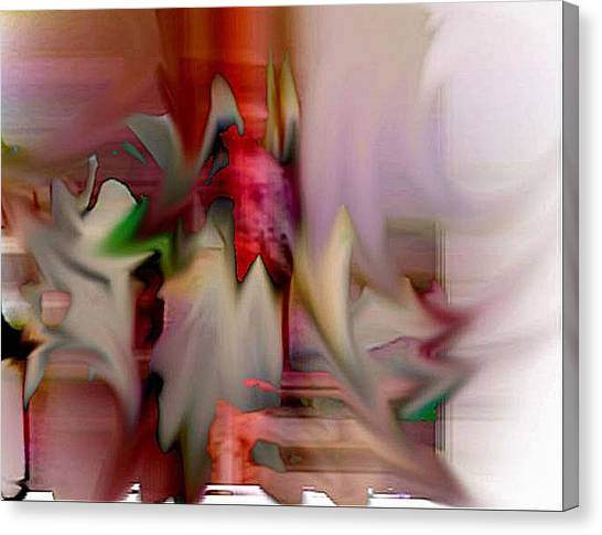 Shake Canvas Print by Dave Kwinter
