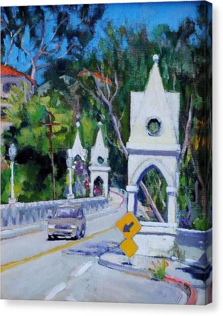Shakespeare Bridge Number Three Canvas Print