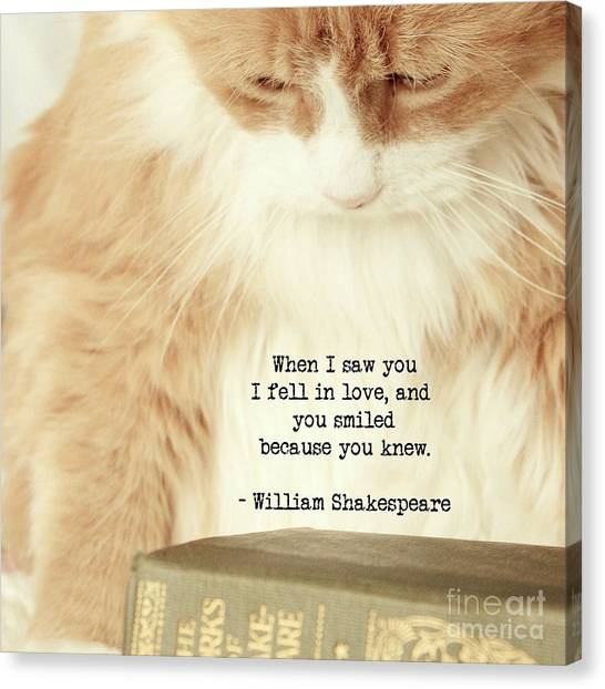 Shakespeare In Love Canvas Print