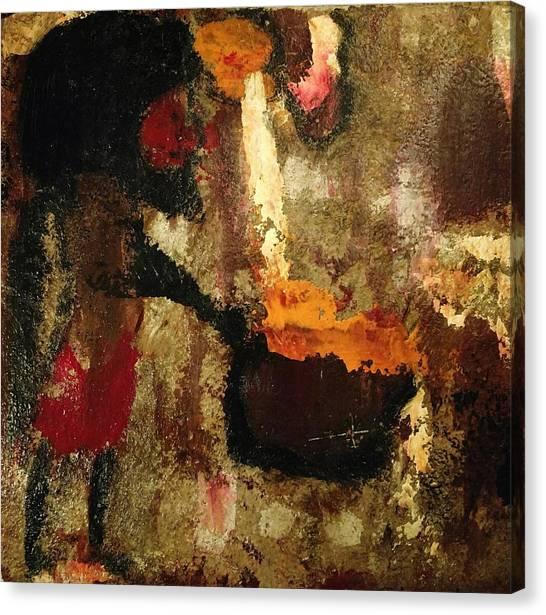 Shaman Alchemist Canvas Print