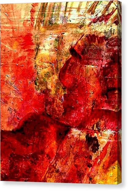 Shaman Couple Canvas Print