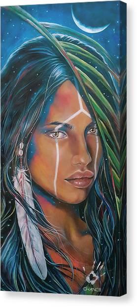 Shamanic Feelher Canvas Print