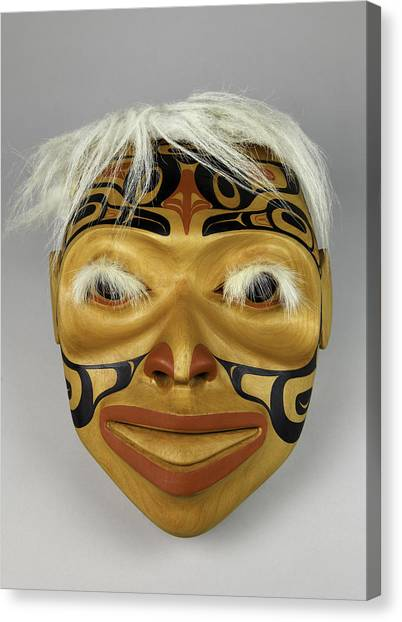 Shaman's Mask Canvas Print