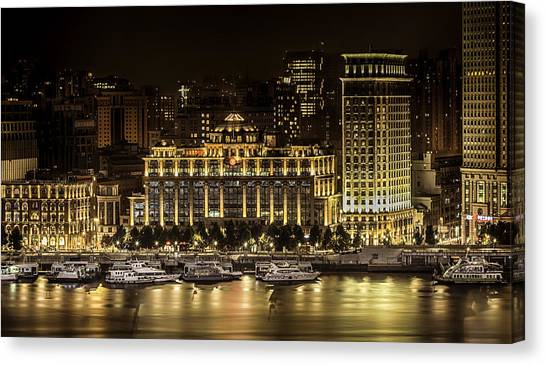 Shanghai Nights Canvas Print