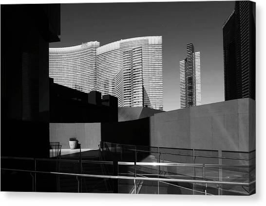 Canvas Print featuring the photograph Shapes And Shadows 3720 by Ricardo J Ruiz de Porras