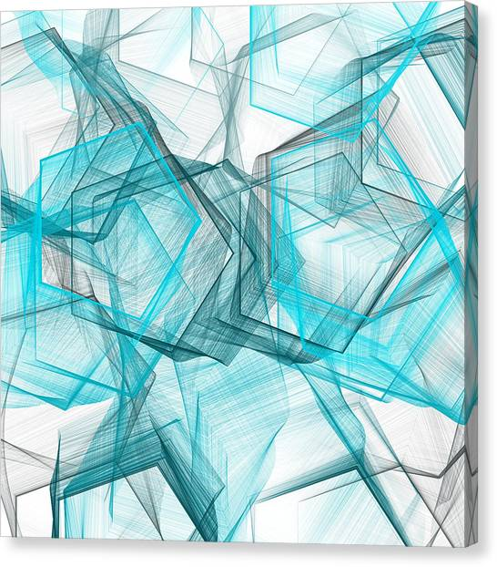 Shapes Galore Canvas Print