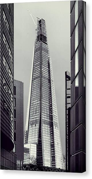 Shard Of Glass Canvas Print