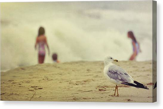 Share The Beach  Canvas Print by JAMART Photography