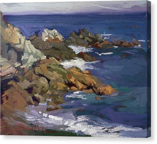 Shark Autumn Catalina  Plein Air Canvas Print