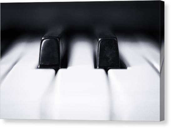 Electronic Instruments Canvas Print - Sharp Or Flat by Scott Norris