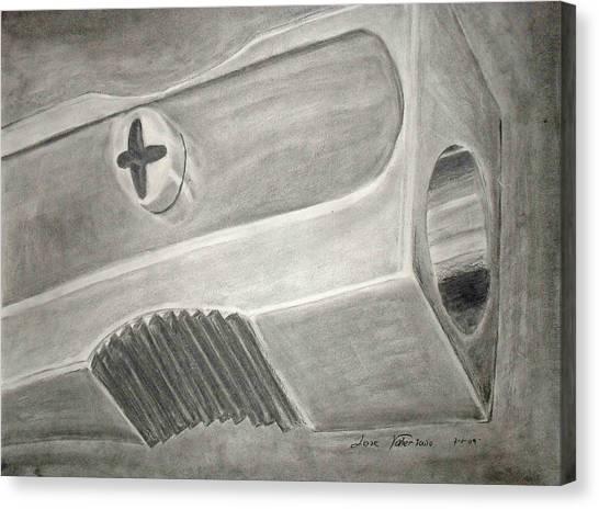 Sharpener Study Canvas Print