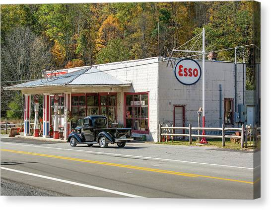Sharp's Country Store Canvas Print