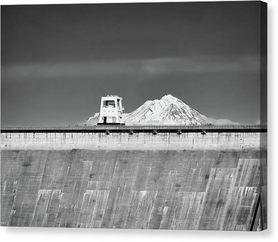 Shasta Dam  Canvas Print