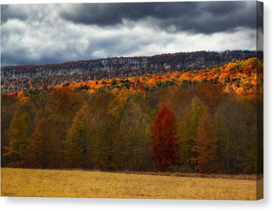 Shawangunk Mountains Hudson Valley Ny Canvas Print