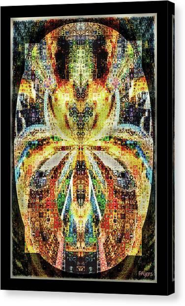 She Is A Mosaic Canvas Print
