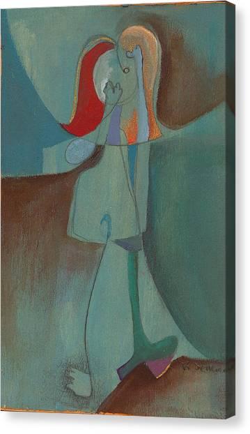 She Thinks She Walks On The Moon Canvas Print by Ricky Sencion