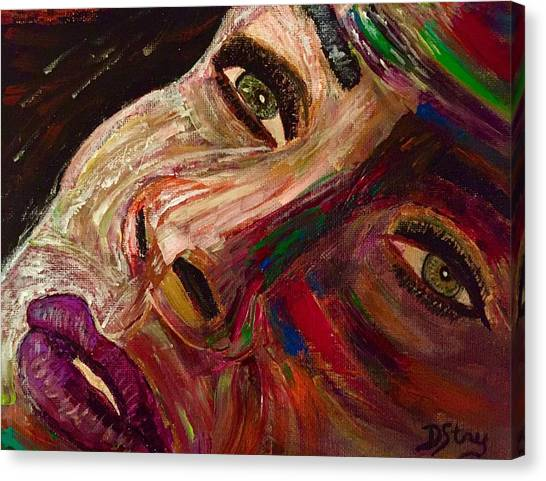 She Waits Canvas Print
