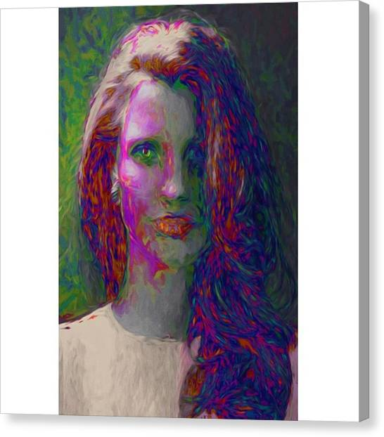 Women Canvas Print - She Was The Help And Caught Osama In by David Haskett II