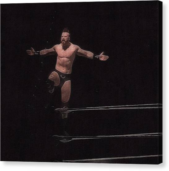 Sheamus Canvas Print