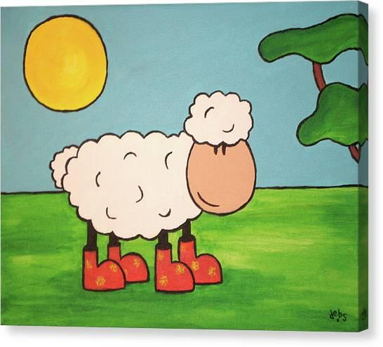 Sheeep Canvas Print