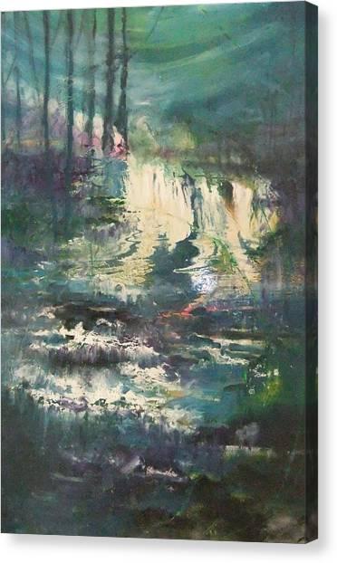 Sheen Falls Canvas Print by Joyce Garvey