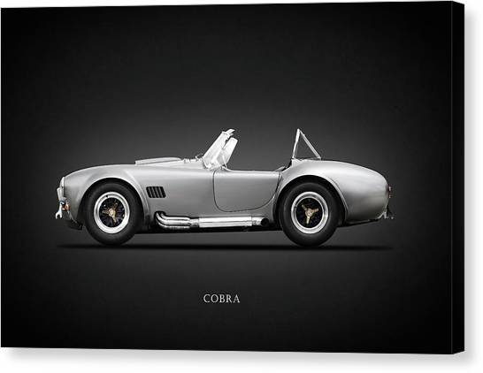 Cobras Canvas Print - Shelby Cobra 427 Sc 1965 by Mark Rogan