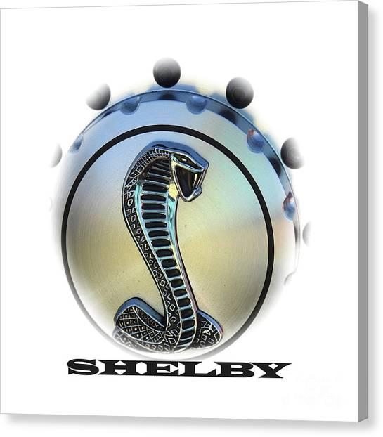 Shelby Cobra Art Canvas Print