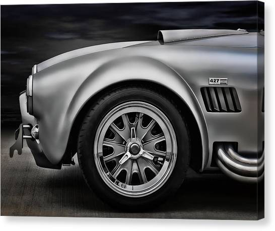 Cobra Canvas Print - Shelby Cobra Gt by Douglas Pittman