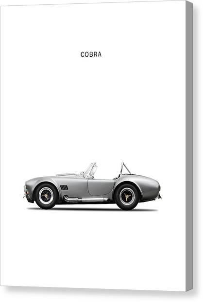Cobras Canvas Print - Shelby Cobra by Mark Rogan