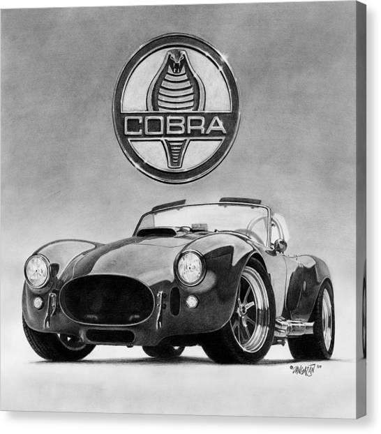 Shelby Cobra Canvas Print