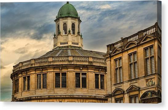 Brown University Canvas Print - Sheldonian Theatre Evening by Stephen Stookey