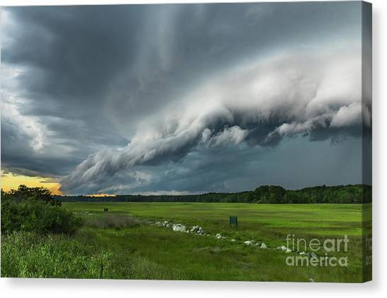 Shelf Cloud Canvas Print