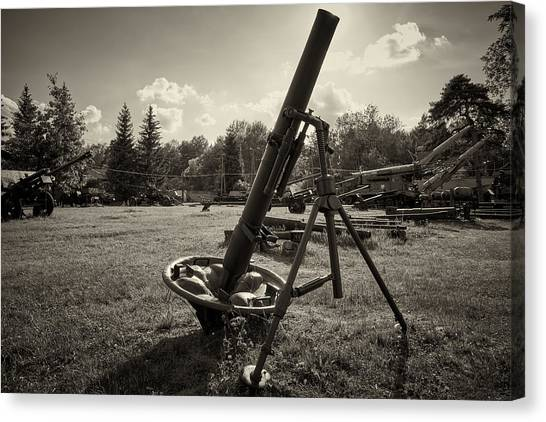 Canvas Print featuring the photograph Shell Shock by Tgchan